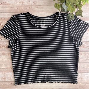 Soft & Sexy Rib Tee American Eagle Outfitters sz S